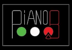 PianoB pizzeria logo pizza maastricht